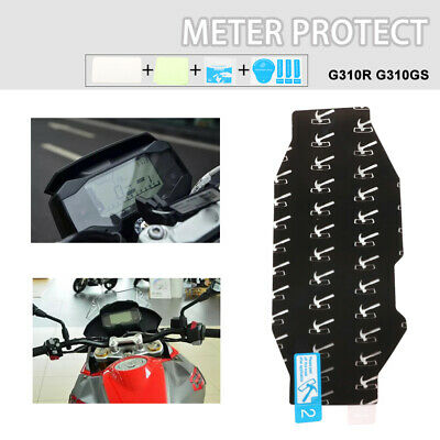 New Dashboard Meter Film Scratch Screen Protector Clear For BMW G310R G310GS