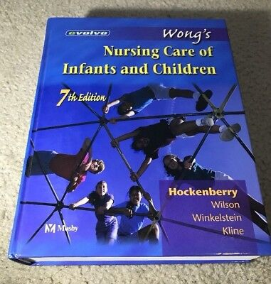 Wong's Nursing Care Of Infants And Children 7th Edition 2002 with CD Inside