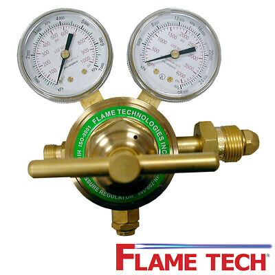 Flame Technologies HPPR-IN-700-580 Hi-Pressure Piston Regulator - Nitrogen Argon