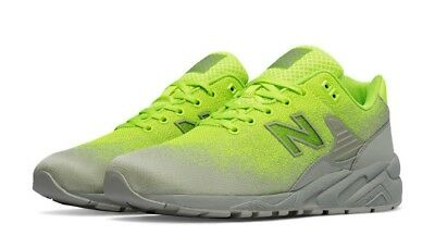 competitive price dd84d 9f72b NEW BALANCE 580 Re-Engineered Textile Men's Shoes Tennis Green Lime MRT580JE