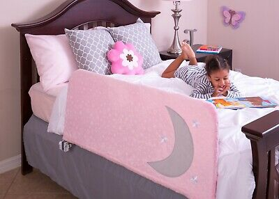 "Bed Rail ""Cover"" for Toddler & Kids w/ Inside Pocket for Books and Toys"