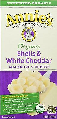 Annies Organic Shells and White Cheddar Macaroni and Cheese 12 Pk-FREE SHIPPING
