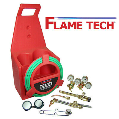 Flame Tech FTPTK-18 Portable Cutting Torch Kit Victor Style Oxy-Acetylene