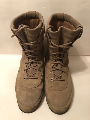 9118055cde7e4 Yeezy Season 2 Crepe Boot Taupe Suede Kanye West 100% Authentic Size 47 US  14