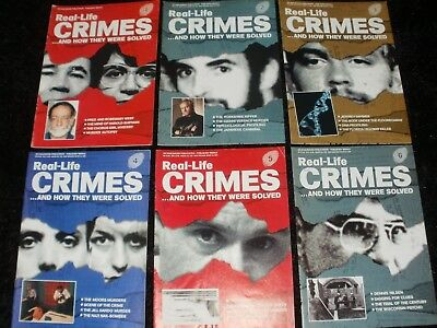 Real-Life Crimes Magazines Issues 1-6