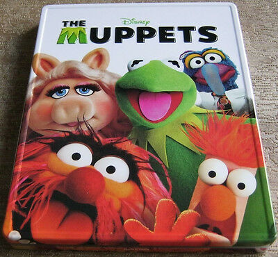 The Muppets (Blu-ray/DVD, 2012, Collectible Metal Packaging) RARE VHTF OOP