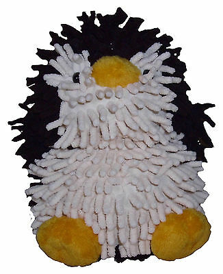 Soft Toy Penguin Shaggy Cuddly Plush Cute Toy Brand NEW Reduced to Clear