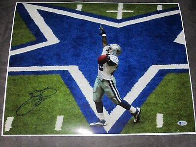 af3c7d3ef Emmitt Smith Dallas Cowboys SIGNED 16x20 NFL Football Super Bowl Champ BAS  COA