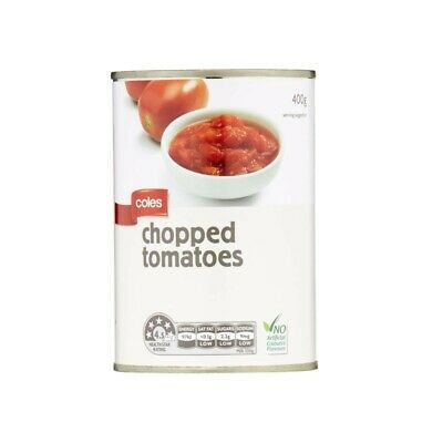 Coles Chopped Tomatoes 400g