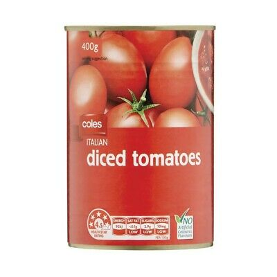 Coles Diced Italian Tomatoes 400g