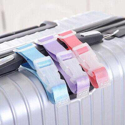 Travel Suitcase Luggage Strap Clip Protect Belt Easy Adjustable Buckle Strap