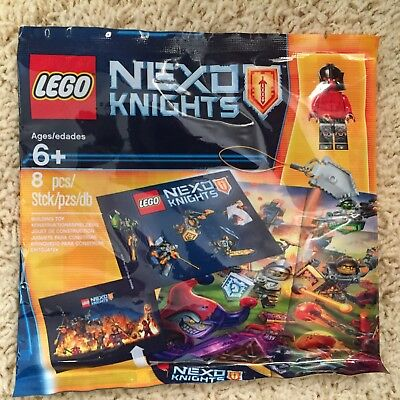 Lego Nexo Knights 5004388 Exclusive Poly Bag New