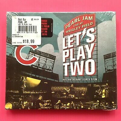 PEARL JAM LET/'S PLAY TWO Original Music Movie Poster 12x27 LIVE AT WRIGLEY FIELD