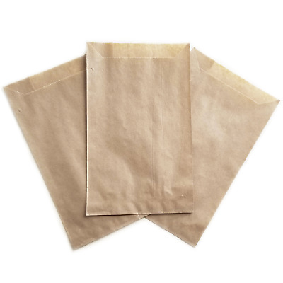 Kraft Eco Paper Bags - Large Natural Cookie Candy Treat Favor Packaging