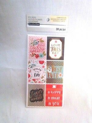 PLANNER ACCESSORIES STICKERS Recollections 330 Pc - $4 99