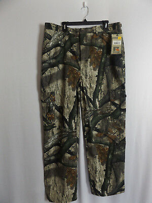 5014f8e35c8f5 Men's Russell Outdoors Mossy Oak Camo Hunting Outdoor Cargo Pants Size L