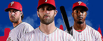 Two Phillies Tickets 6/23/19 vs. Marlins, section 113
