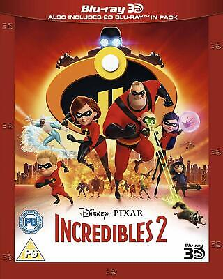 Incredibles 2 3D 2D blu-ray disc set region-free 2018 Disney Pixar