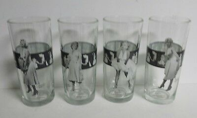 f666ba85802cf 4 - Marilyn Monroe Bernard of Hollywood Tumbler Glasses Black White Film  Strip