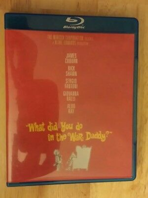 What Did You Do in the War, Daddy (Blu-ray Disc, 2015) - Used - Free Shipping!