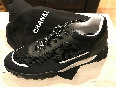 d5b3eba2a Brand New Rare 2019 Men s Chanel Sneakers Size 44 ONLY AVAILABLE IN PARIS