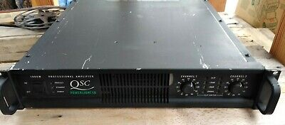 QSC Power Light 1.8 1800w Professional Audio Amplifier Fully Tested