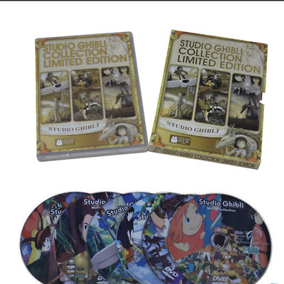 Studio Ghibli Collection Limited Edition DVD Set 18 Movies on 6 Disc selaed AU