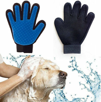 Pet Cat &Dog Hair Remover Mitt Pet Grooming Glove Gentle Deshedding Brush Glove