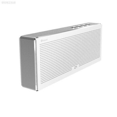 1053 Z1 Wireless Bluetooth Speaker Portable Mini With TF Card MP3 Player Silver