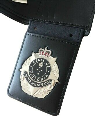 Private Investigator Badge and Wallet Combo *CLEARANCE SALE - DISCONTINUED ITEM*