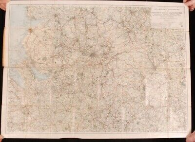 c1870 MAP MANCHESTER district Abel Heywoods