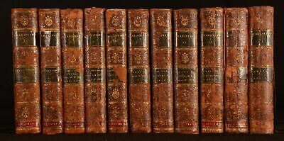 1793 11vols of The Plays of William Shakespeare Leather Illustrated