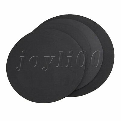 Rubber Foam Practice Pad Sound off Mute Silencer Set 5mm Thick for Jazz Drum
