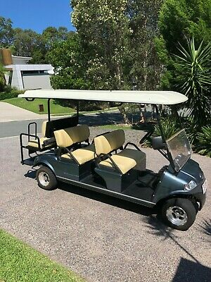 Golf Cart - 6 Seater - Electric with Lights