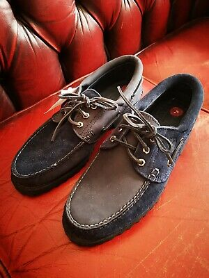 TIMBERLAND AUTHENTICS 3 Eye Classic Lug Mens Boat Shoes Deck