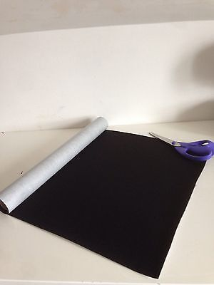 Adhesive  Felt  - Various colours and lengths - Free Postage - from £1.95