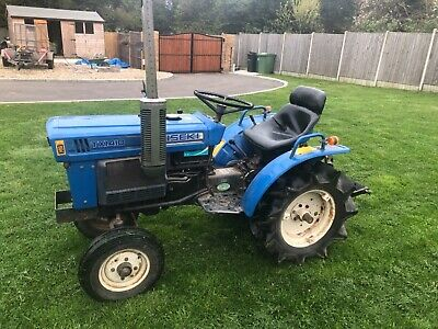 Iseki Compact Tx1410 Tractor 2Wd 3 Cylinder Diesel 3 Point Linkage Pto No Vat