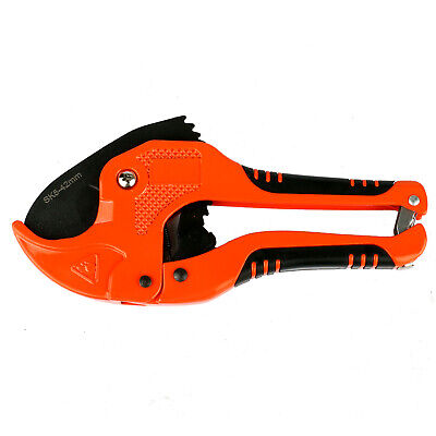 """Heavy Duty PVC/PE/PPR Pipe Cutter Tool Cutting Up To 42mm(1-2/3"""") Plastic Tube"""