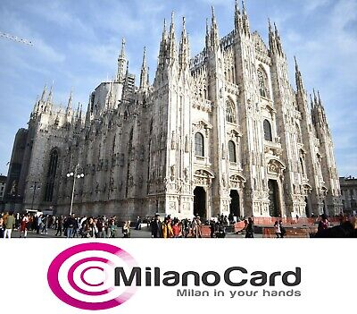 MilanoCard. Milano tourist discount cards. Validity 72 hours after activation.