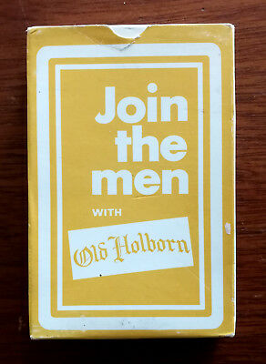 Old Holborn Cigarettes Vintage Playing Cards. 1960