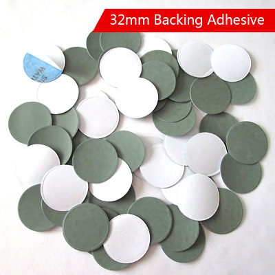 32mm Sanding Disc Waterproof Backing Adhesive Sandpaper 1200 / 2500 / 3000 Grit