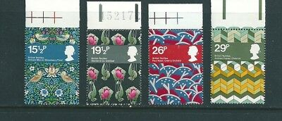 1982 - GB British Textiles Set of 4 Stamps SG1192/95 MNH