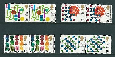 1977 - GB Royal Institute of Chemistry Set of 4 Stamps in Pairs SG1029/32 MNH