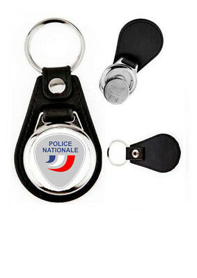 voiture PORTE CLES LOGO POLICE NATIONALE