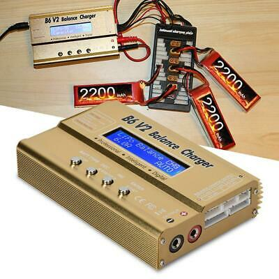 HTRC 80W B6V2 RC Battery Balance Charger For RC Car Drone 2-6s Lipo Batteries