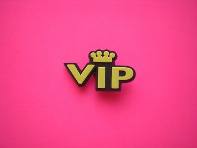 Garden VIP Clog Shoe Charm Plug Button Accessories Bracelet Wrist Band VIP