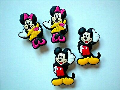 s Clog Shoe Charm Button Plug Accessories WristBand Mickey Minnie Mouse