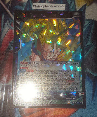 Resolute Strength Son Goku 4x BT5-030 R Dragon Ball Super PLAYSET