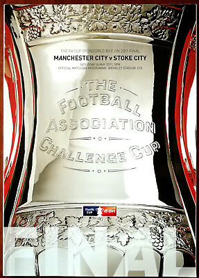 Manchester City v Stoke City Challenge Cup Final 14 May 2011 Programme