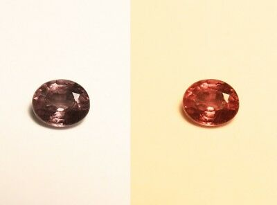 0.46ct Madagascan Colour Change Garnet - Rare Superb Colour Change